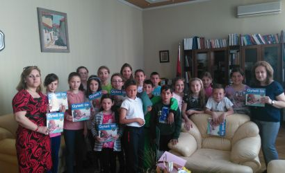 Vizitë e nxënësve në Bashkinë e Korçës
