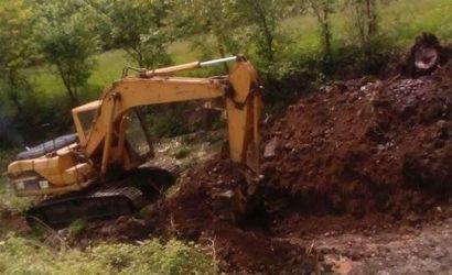 Pastrimi i lumit në fshatin Dërsnik