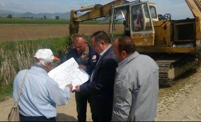Pastrimi i kanaleve kullues në njësinë administrative Bulgarec