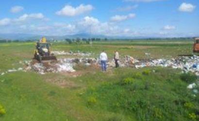 Pastrim mbetjesh në njësinë administrative Bulgarec