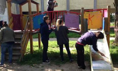 """Iniciativë vullnetare e studentëve të Universitetit """"Fan S. Noli"""""""
