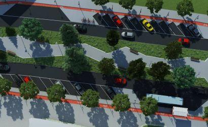 """SHËTITORE """"FAN NOLI"""" Infrastrukturë bashkëkohore për mjetet dhe këmbësorët, korsi biçikletash dhe gjelbërim."""