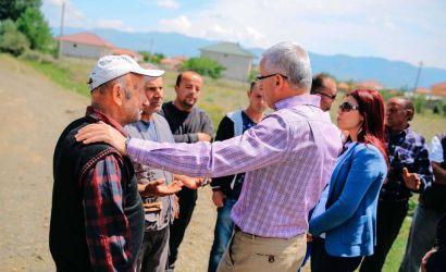 Vazhdojnë punimet në fshatin Dërsnik