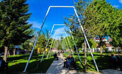 """Vazhdojnë punimet për transformimin e parkut """"Vangjush Mio"""""""