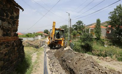 Ujësjellësi i ri në fshatin Barç