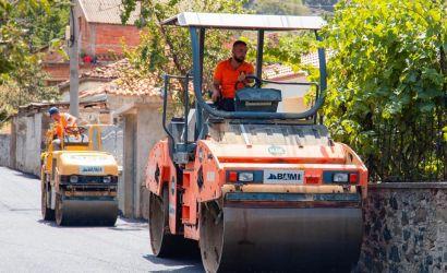 Asfaltimi i rrugëve të fshatit Drenovë