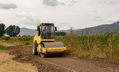 Sistemimi i rrugëve të parcelave në fshatin Voskop