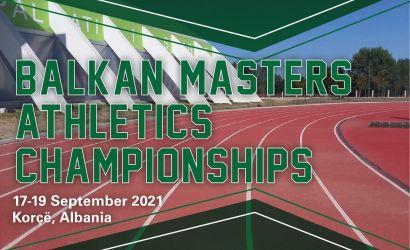Kampionati i 30-të Ballkanik i Atletëve Master