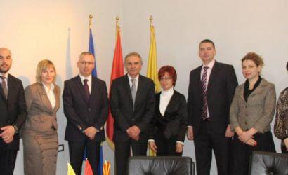 Ambasadori i Maqedonise Stojan Karajanov viziton Bashkine Korce