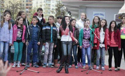 "Femijet e Q.K.F ""Mihal Grameno"" tek Panairi i Pranveres"