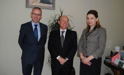 Ambasadori i Izraelit David Cohen viziton Bashkine Korce