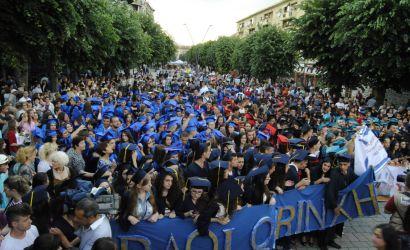 Ceremonia e Diplomimit , Matura 2014