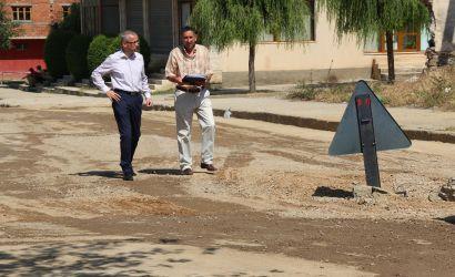 Kryebashkiaku Sotiraq Filo inspekton punimet ne lagjen 14