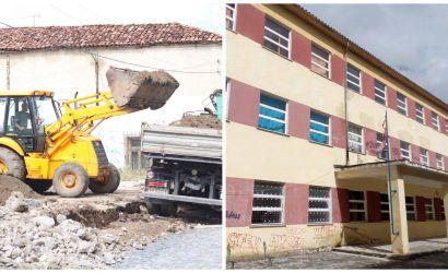 """Fillon puna per rikonstruksionin e plote te shkolles """"Mesonjetorja e Pare Shqipe"""""""