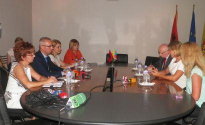 Ambasadorja e Republikes se Cekise viziton Bashkine Korce
