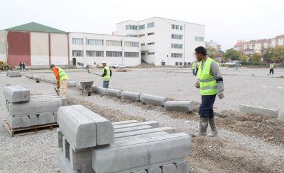 """Rikonstruktohet terreni sportiv pranë shkollës""""Raqi Qirinxhi"""""""