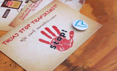 """""""Raporto dhe Shpëto""""kundër trafikimit të qënieve njerëzore"""