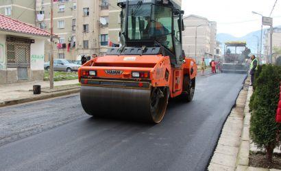 Kryebashkiaku Filo inspekton punimet në rrugën Th.Kavalioti