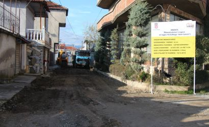"""Fillojnë punimet në rrugën """"Iljaz Bej Mirahori"""""""